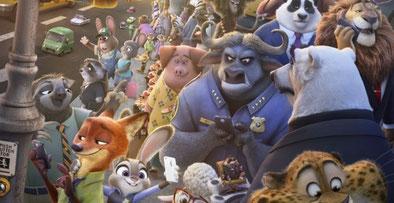 Tierisch guter Cast [Quelle: Disney]