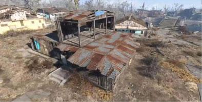 Selbst die kleinste Siedlung beginnt mit dem ersten Haus. [Quelle: Bethesda]