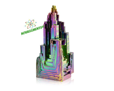 Bismuth metal crystal, buy bismuth crystals, buy bismuth metal, bismuth metal for element collection, grow bismuth crystals, bismuth metal acrylic cube, bismuth for laboratory, beautiful bismuth crystals.
