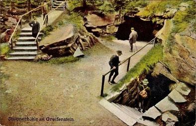 Stülpnerhöhle am Greifenstein