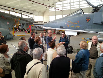 Visite du Musée aéronautique navale de Rochefort