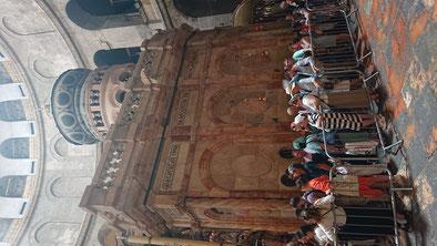 Кувуклия -эдикула, часовня гробницы Христа