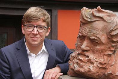 David Riedel, Museumsleiter (Fotograf: Thomas Kuhlbusch)