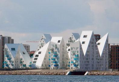 The Iceberg- Auffälligstes Gebäudeensemble in Aarhus´ Hafencity