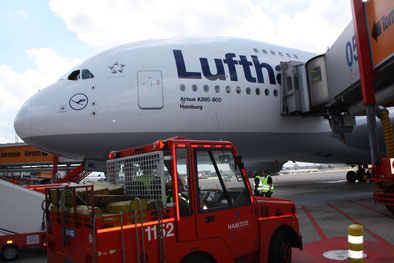 Lufthansa's Airbus A380 fleet faces grounding  -- photo: CFG / hs