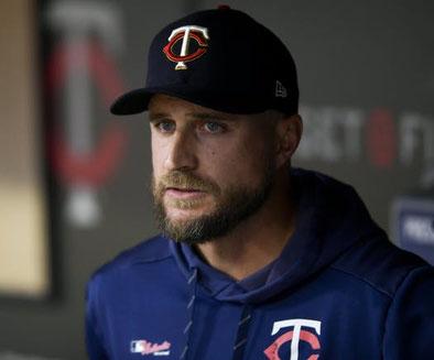 Nella foto Rocco Baldelli, manager dei Twins con i suoi 38 anni è il più giovane manager della MLB (AARON LAVINSKY  •  AARON LAVINSKY @ STARTRIBUNE.COM )