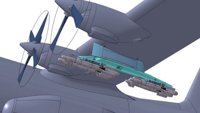 Il nuovo sistema AUF-2 Studiato per i C-130H - © SAGEM
