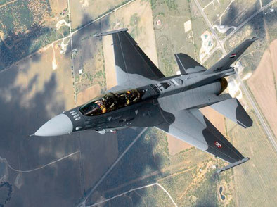 F-16 D nuova mimetica irachena - © USAF via Defence Industry Daily