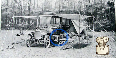 Louis Vuitton catalog 1900 mahogany automobile trunk toolbox