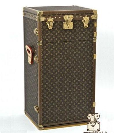 malle à 1000 cigares Louis Vuitton rare M11050