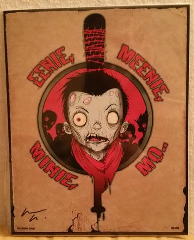 Negan The Walking Dead Sketch