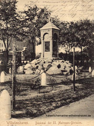 Matrosendivisionsdenkmal Matrosendiviosn Denkmal Wilhelmshaven Kaiserliche Marine