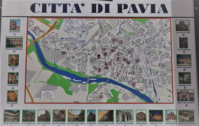Pavia Citymap