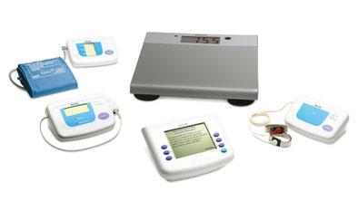 Philips Healthcare Telemonitoring Set für die eigenständige Patientenüberwachung von Zuhause