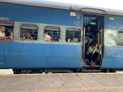 Zugfahren in Indien - ein Erlebnis