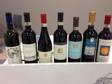 Weinprobe 2015 in Montforte D'Alba