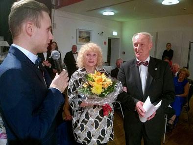 Erik Heyden (Lehrwart LTVS), Christine Krüger und Wilfried Krüger