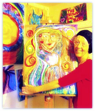 Artist and studio owner Dee MacGibbon