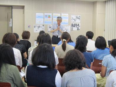 体験授業:郡司正樹先生(音楽療法)