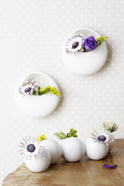 Blumen, Dekoidee, kreativ, diy, do it yourself, wohnidee