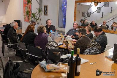 04.03.2015, Treffen Kreativgruppe im Kulturbunker