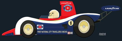 Alan Jones by Muneta & Cerracín - Lola T333CS - Chevrolet