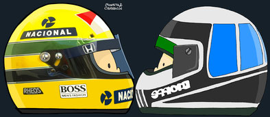 Nannini Vs Senna by Muneta & Cerracín