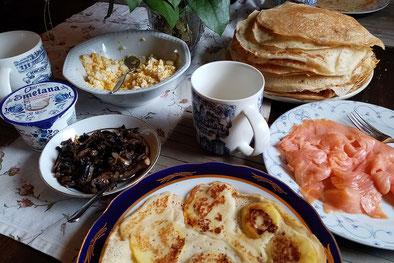 Pfannkuchen bis zum Abwinken