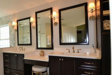 The Model Home Look Master Bathroom