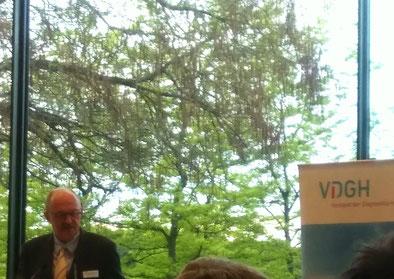 Parl. Staatssekretär Dr. Michael Meister MdB zu Gast beim VDGH