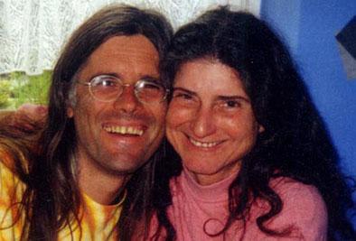 Avinash and Pyari at Petra's, Kassel, Germany, 2001