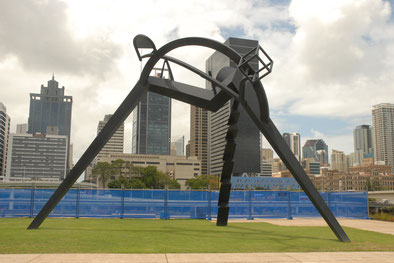 A sculpture I stumbled upon in Brisbane.