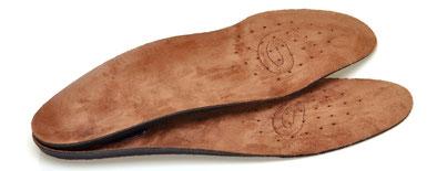 Einlegesohlen Fußbett