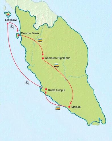 Malaysia - Weltreise Blog und Reiseziele - Travel um die Welt