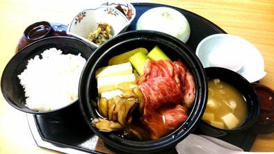おやべイルミ,食事,鍋