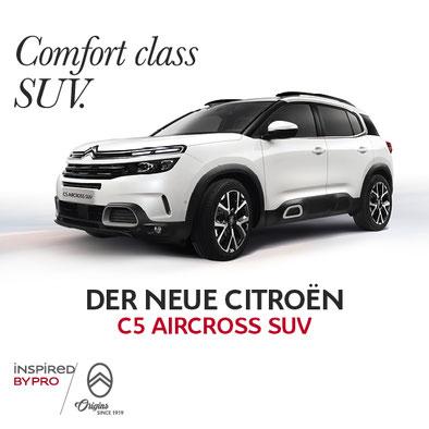 Grosse Premiere des SUV Citroen C5 Aircross in Rosenheim bei Autohaus Strasser