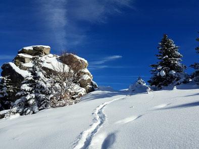 initiation raquettes à neige Pyrénées-Orientales