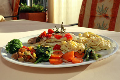 gehobene italienische Küche