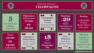 Champagnestreek bezoeken tips