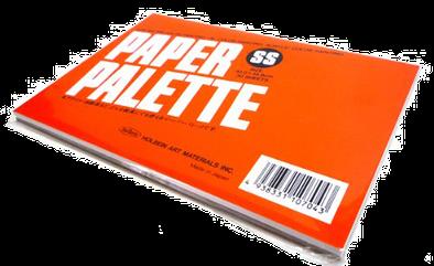 Бумажная ламинированная палитра