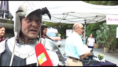 Sommerfest 2016 Schloß Stolzenfels - Interview Mittelrhein TV mit Tempora Historica