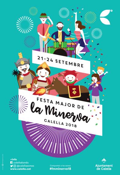 Fiestas en Calella Festa Major de la Minerva