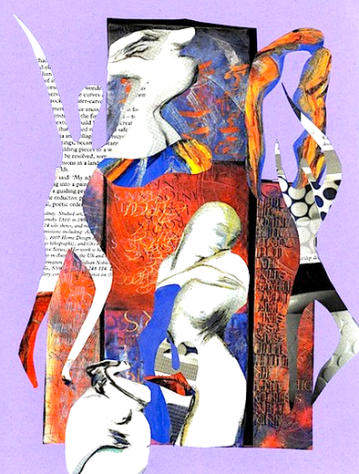 Collage by Shelley Klammer