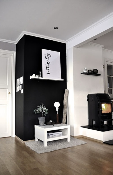 black attitude osez la peinture noir sur vos murs marie 39 s home. Black Bedroom Furniture Sets. Home Design Ideas