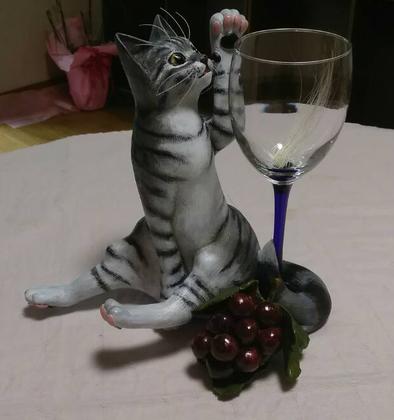 猫ひげグラス