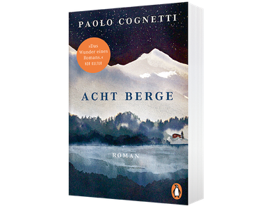 Cover Paolo Cognetti, Acht Berge, Penguin