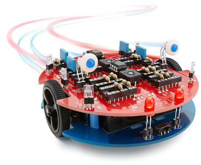 analog controlled robot kit tibo