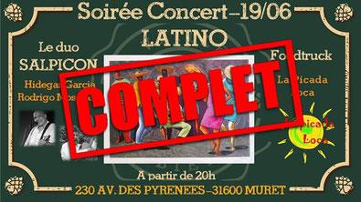 Soirée Concert Latino à Muret avec La picada loca !