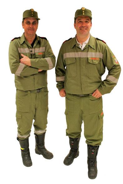 Freiwillige Feuerwehr Palfau - Kommando - OBI Willibald Danner - HBI Chistian Danner