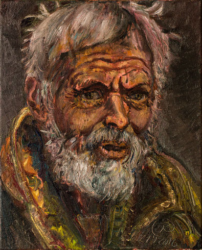 Jean Chaperon, 40cm x 50cm, Öl auf Leinwand, 2016